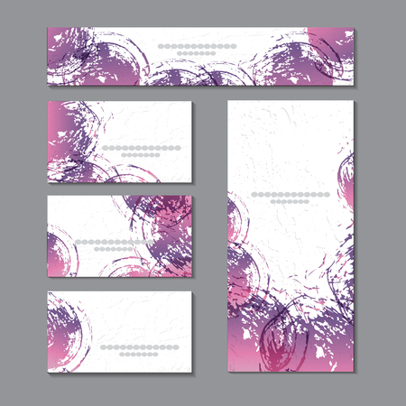Cute templates with abstract graphics.For romance and design, advertising, greeting cards, posters, advertising vector graphics