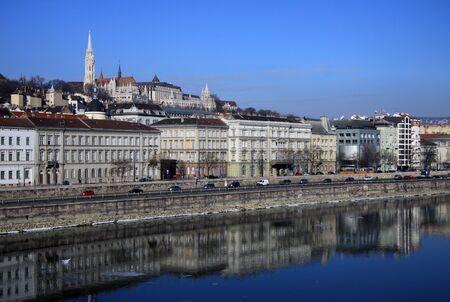buda: Voir sur Buda banque de Budapest, Hongrie Banque d'images