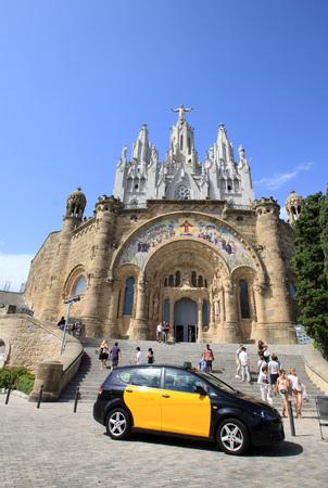 sacre coeur: Expiatoire du Sacr�-C?ur de J�sus, Barcelone, Espagne