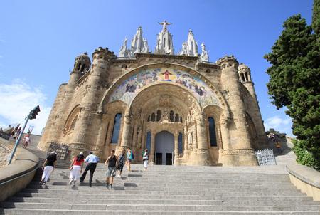 sacre coeur: Expiatoire du Sacré-C?ur de Jésus, Barcelone, Espagne