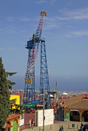 atracci�n: La Atalaya atracci�n en Parque de Atracciones Tibidabo, Barcelona, ??Catalu�a, Espa�a