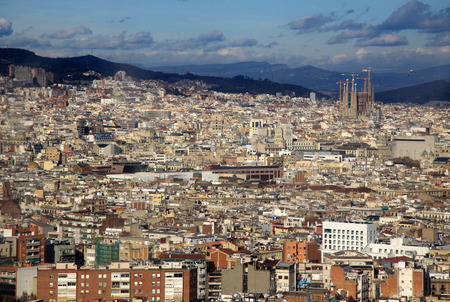 montjuic: View of Barcelona from Montjuic Hill