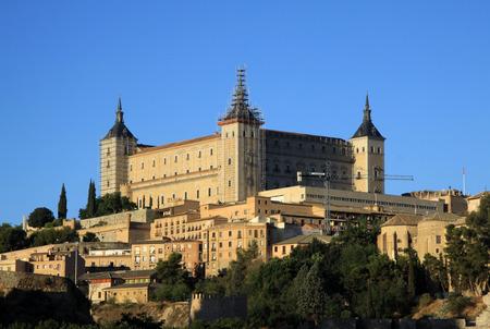 alcazar: Toledo, Spanish old town at the Alcazar.