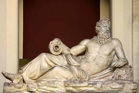 vatican: Sculpture at Vatican Museum, Vatican Editorial