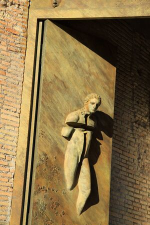 martiri: ROME, ITALY -  Basilica Santa Maria degli Angeli e dei Martiri