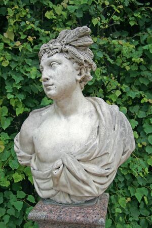 tsarskoye: ST. PETERSBURG, TSARSKOYE SELO, RUSSIA - JUNE 26, 2008: The Catherine Park Sculpture