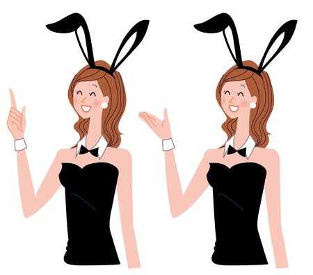Bunny girl Stock fotó