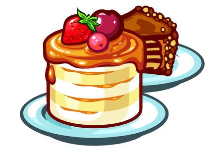 Een vector cakes