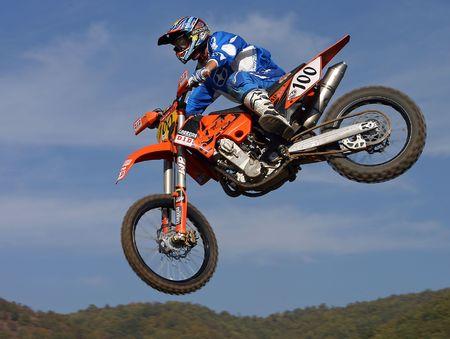 saut de motocross