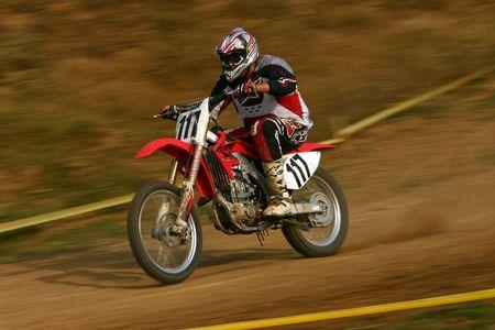 Motocross  Banque d'images - 934307
