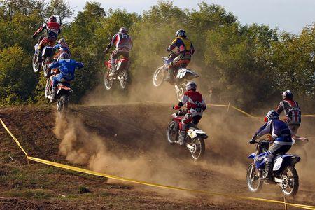 Motocross Banque d'images - 934309