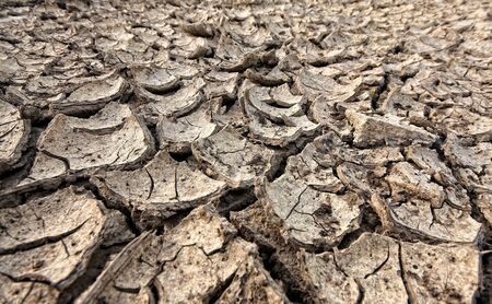 Global warming concept of cracked ground,be arid Stock Photo - 8731053
