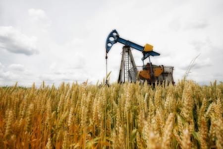 Pompe à huile, de l'équipement de l'industrie pétrolière, machine industrielle pour le pétrole Banque d'images