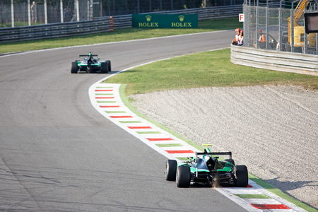 prix: Monza, Italia - September 04: Alex Fontana of Status Grand Prix during GP3 Series, Practice session, Italian Grand Prix. Autodromo Nazionale Monza: 04.-06.09.2015 - ITALIA 2015, Monza