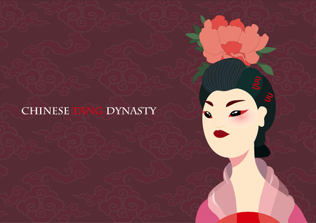 Chinese ancient beauty Illustration