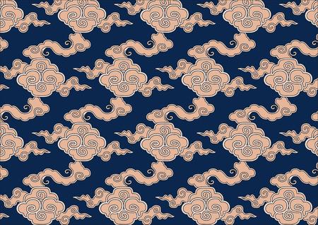 Chinese Fengyun Pattern