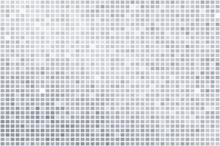 Silver mosaic background illustration Фото со стока - 104355454