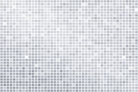 Silver mosaic background illustration