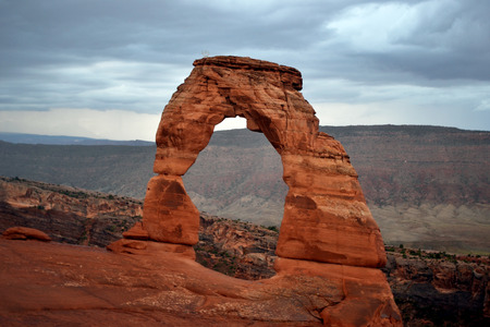 moab: Arches National Park, Moab UT Stock Photo