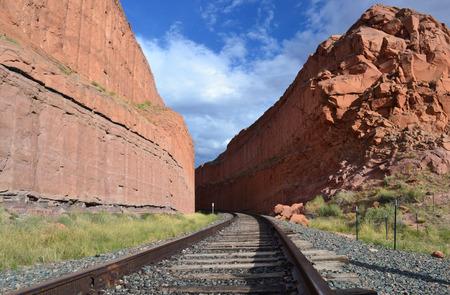 ut: Railway at Colona Arches, Moab UT