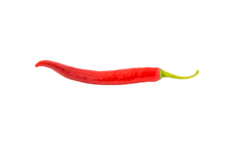 red chili pepper: Red Chili Pepper isolated on white background with clipping path