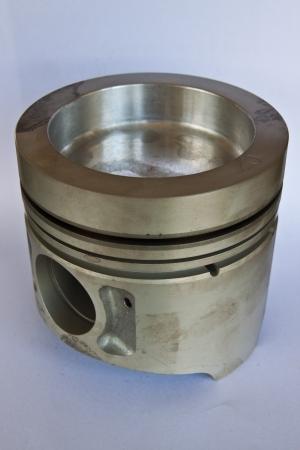 Isolate of piston s diesel engine Stock Photo - 14745965
