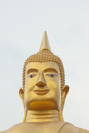 introspection: Big golden buddha statue