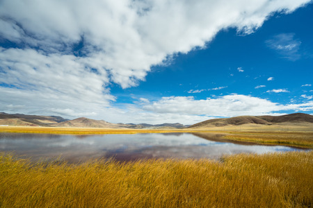 The late autumn in the Ali area of Tibet