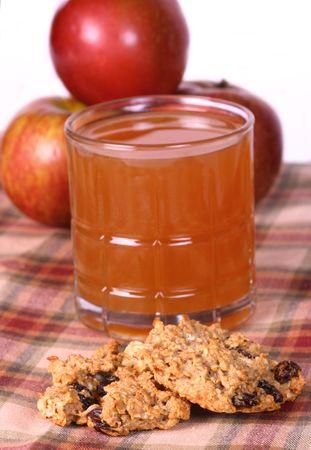Apple Oatemeal cookies photo