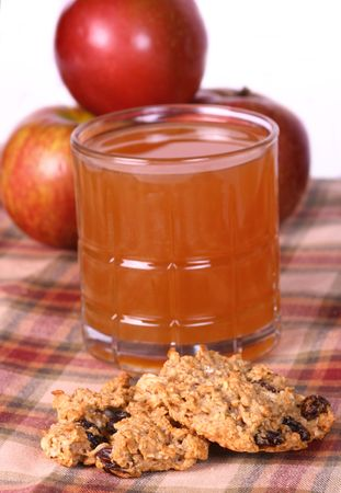 Apple Oatemeal cookies photo