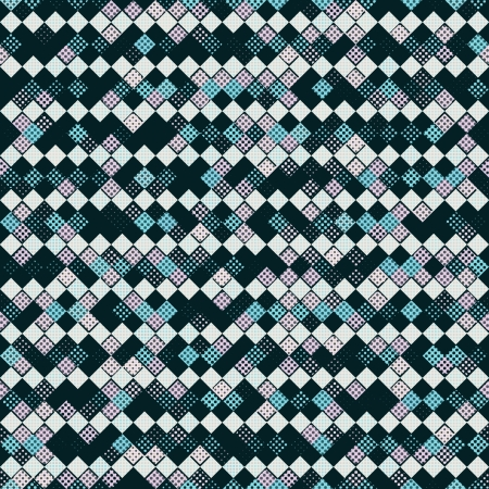 halftone argyle pattern photo