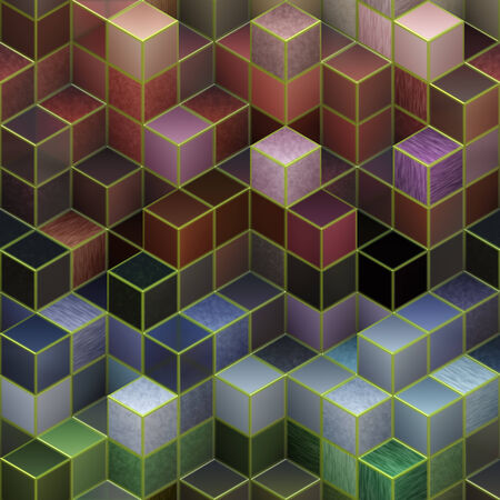 Farbe-cubes