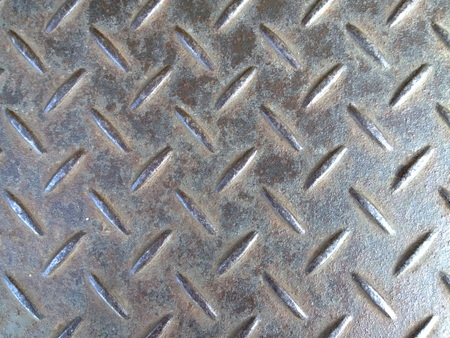unprotected: background dirty iron metal Stock Photo