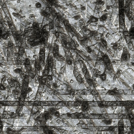 scratched: Black Scratched metal texture