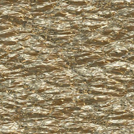 foil: Crumpled gold foil background