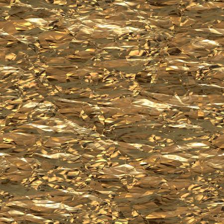 goldfolie: Zerknittertes Goldfolie Hintergrund Lizenzfreie Bilder