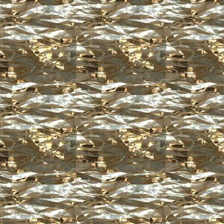 foil: Gold metal texture and crumpled aluminium foil