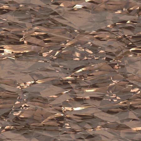 foil: Rumpled aluminum foil background texture