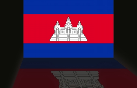 shaddow: Flag of Cambodia