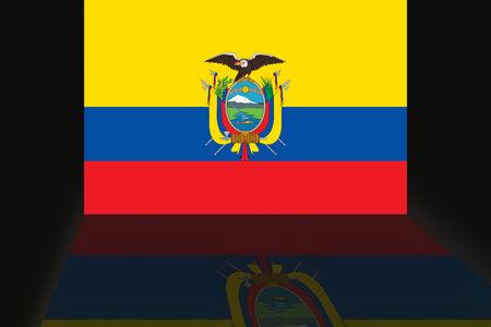 Flag of Ecuador Фото со стока