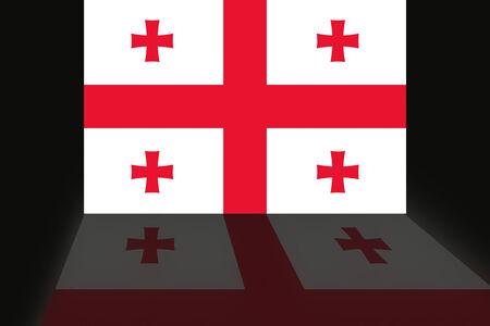 shaddow: Flag of Georgia