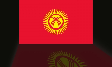 shaddow: Flag of Kyrgyzstan