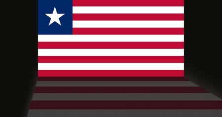 shaddow: Flag of Liberia