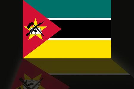 mozambique: Flag of Mozambique