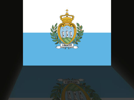 shaddow: Flag of San Marino