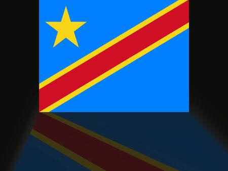 コンゴ民主共和国の旗