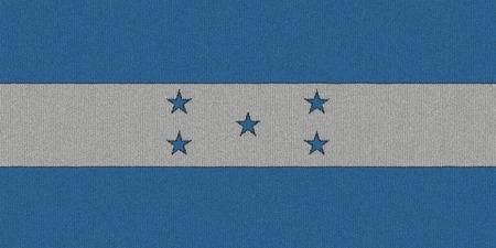 bandera honduras: Bandera de Honduras de punto
