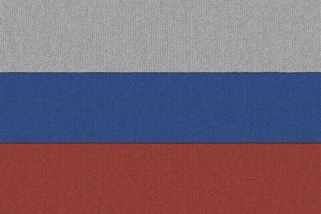니트 러시아 국기