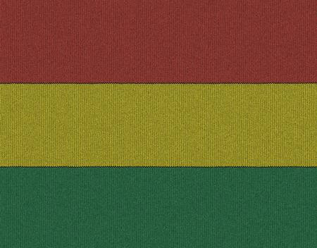 bandera de bolivia: Bandera de Bolivia de punto Foto de archivo