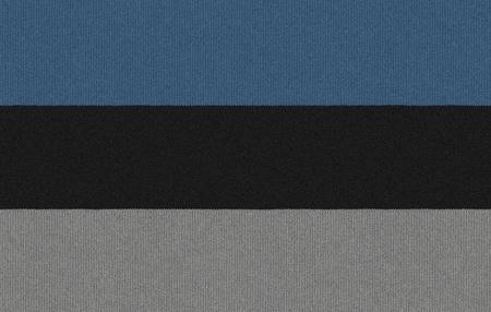 Knitted Estonia flag